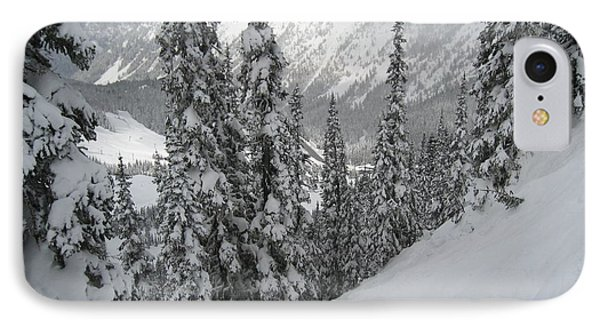 Way Up On The Mountain Phone Case by Kym Backland