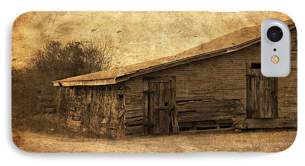 Weathered And Old IPhone Case by Kim Hojnacki