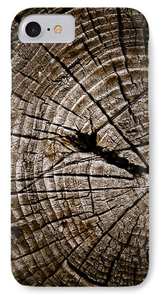 Weathered Wood IPhone Case by Frank Tschakert