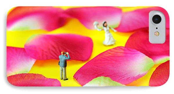 Wedding Photography Little People Big Worlds IPhone Case by Paul Ge