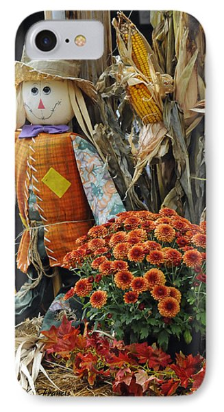 Welcome Fall Phone Case by Kenny Francis