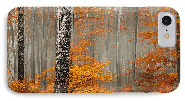 Welcome To Orange Forest IPhone Case by Evgeni Dinev