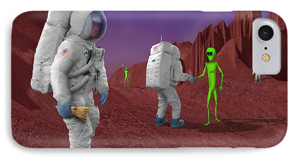 Welcome To The Future IPhone Case by Mike McGlothlen