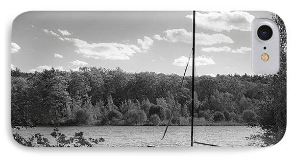 Wellesley College Waban Lake Phone Case by University Icons
