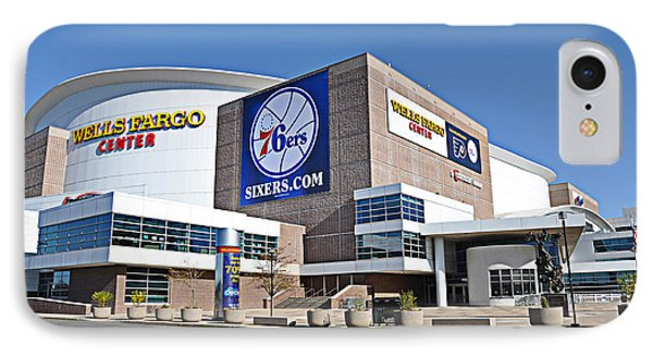 Wells Fargo Center IPhone Case by Bill Cannon