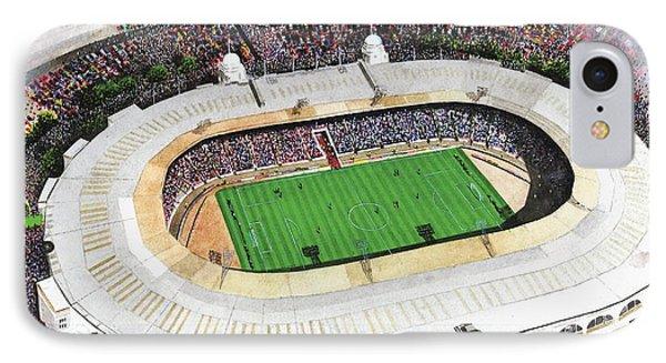Wembley Stadium Phone Case by Kevin Fletcher