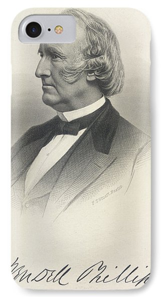Wendell Phillips IPhone Case by British Library