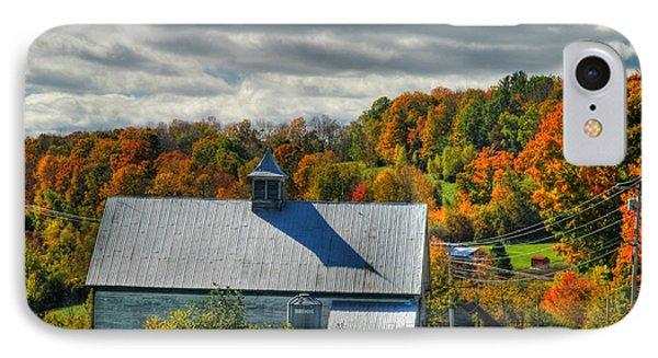 Western Maine Barn IPhone Case by Alana Ranney