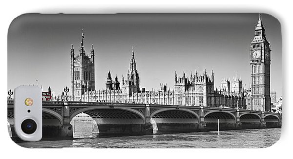 Westminster Bridge Phone Case by Melanie Viola