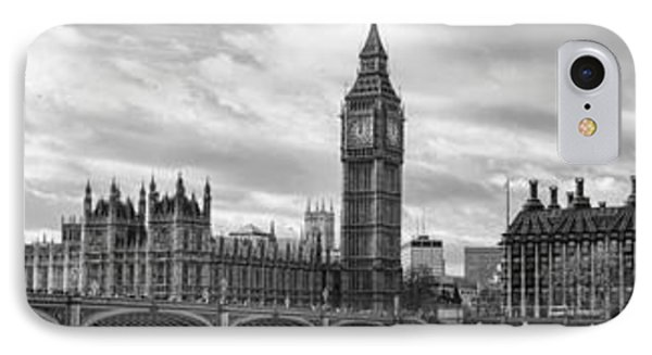 Westminster Panorama Phone Case by Heather Applegate