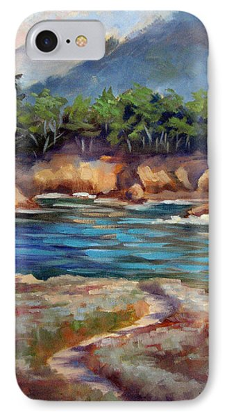 Whalers Cove Point Lobos IPhone Case by Karin  Leonard