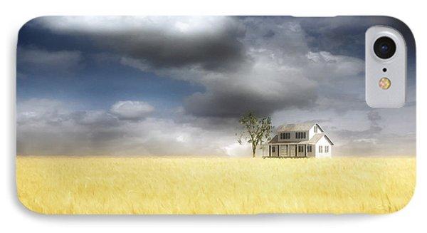 Wheat Field IPhone Case by Cynthia Decker