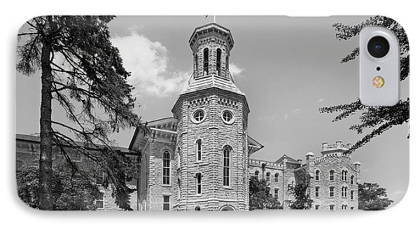 Wheaton College Blanchard Hall IPhone Case by University Icons