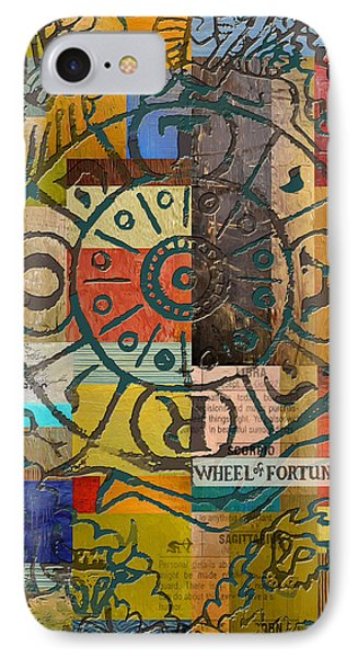 Wheel Of Fortune IPhone Case by Corporate Art Task Force