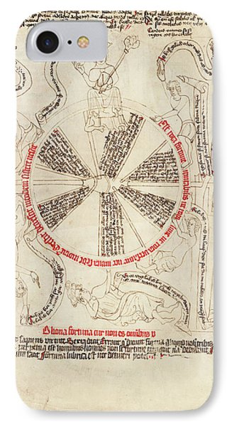 Wheel Of Life Allegory IPhone Case by Library Of Congress