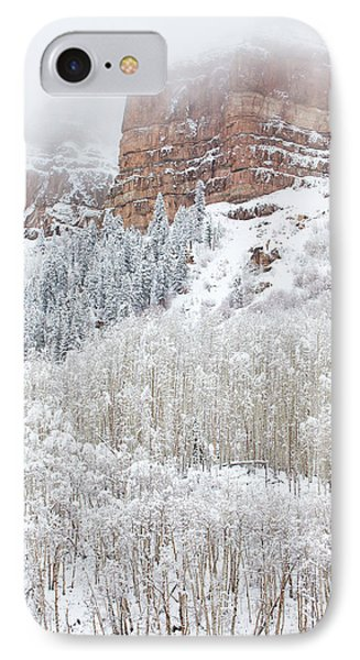 When Winter Falls IPhone Case by Darren  White