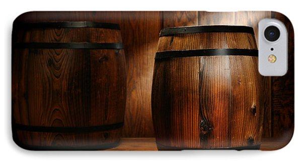 Whisky Barrel IPhone Case by Olivier Le Queinec