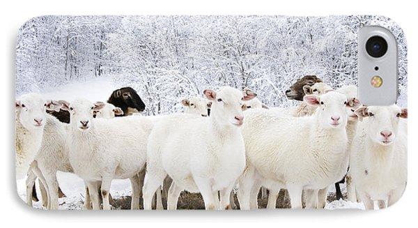 White As Snow Phone Case by Thomas R Fletcher