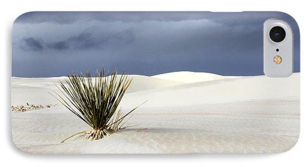 White Sands Dark Sky Phone Case by Bob Christopher