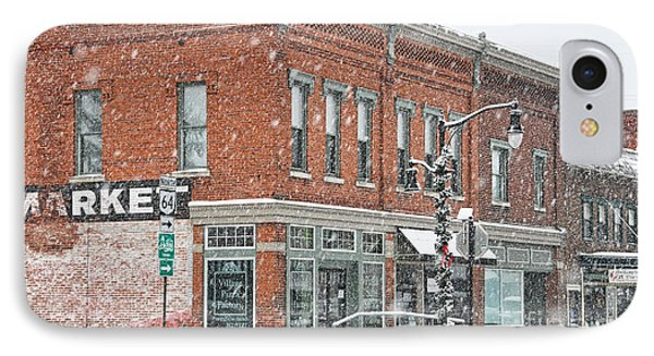 Whitehouse Ohio In Snow 7032 IPhone 7 Case by Jack Schultz