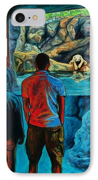 Who Is Watching Whom Phone Case by Bob Northway