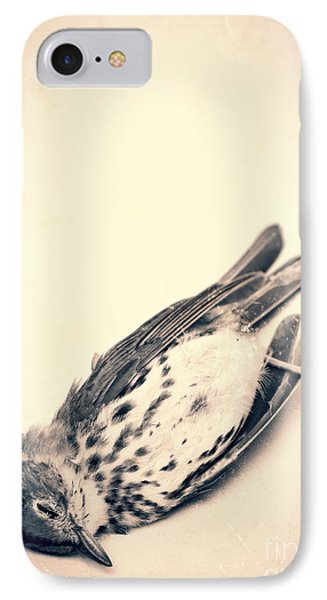 Who Killed Cock Robin Phone Case by Edward Fielding