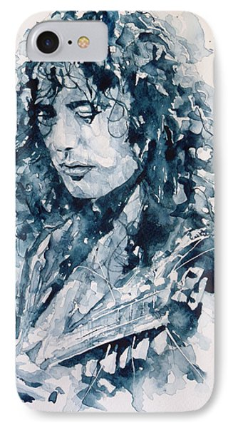 Whole Lotta Love Jimmy Page Phone Case by Paul Lovering