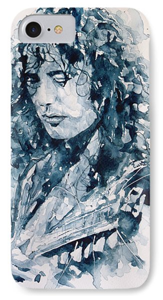 Whole Lotta Love Jimmy Page IPhone Case by Paul Lovering