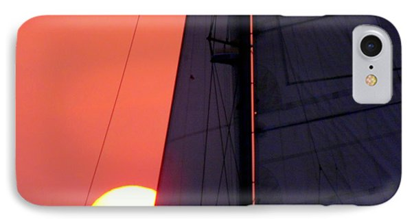Why We Sail IPhone Case by Karen Wiles