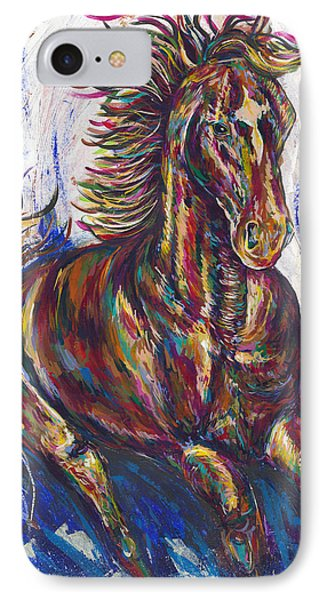 Wild Mustang Phone Case by Lovejoy Creations
