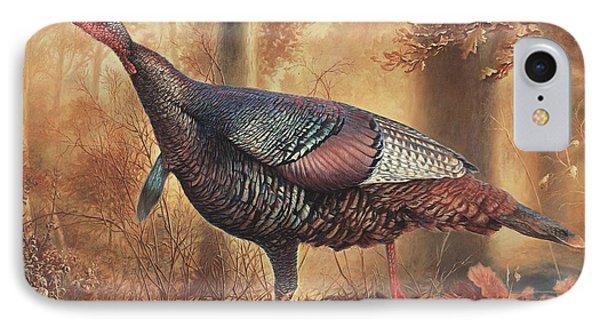 Wild Turkey IPhone 7 Case by Hans Droog