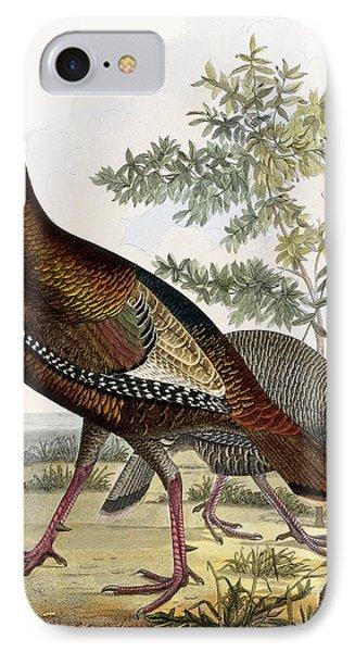 Wild Turkey IPhone Case by Titian Ramsey Peale