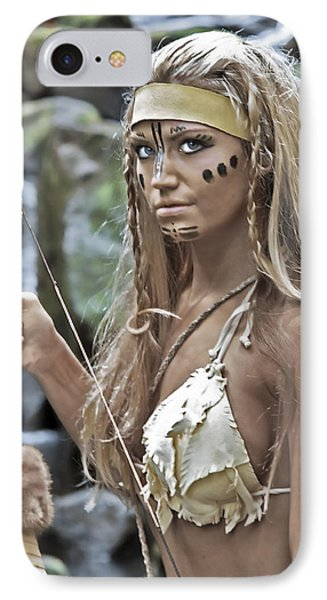 Wild Woman 1 Phone Case by Don Ewing