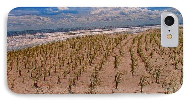 Wildwood Beach Breezes  IPhone 7 Case by David Dehner