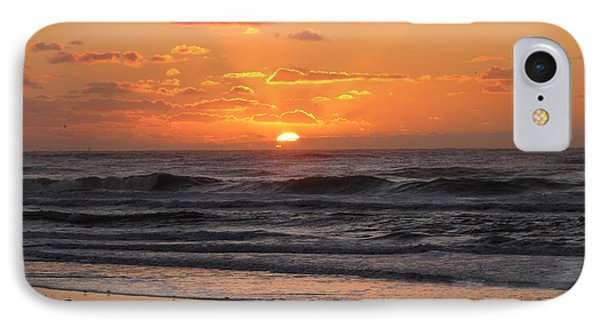 Wildwood Beach Here Comes The Sun IPhone 7 Case by David Dehner