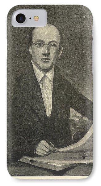 William Lloyd Garrison IPhone Case by British Library