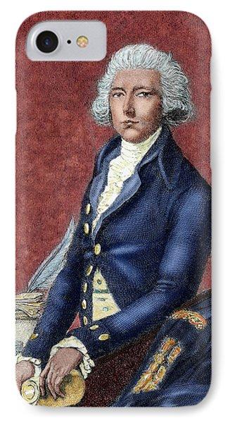 William Pitt (london 1708-hayes, 1778 IPhone Case by Prisma Archivo