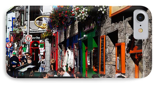 William Street, Galway City, Ireland IPhone Case by Panoramic Images