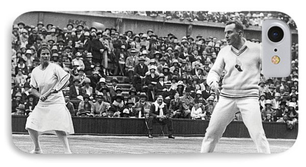 Wimbledon Championship Play IPhone Case by Underwood Archives