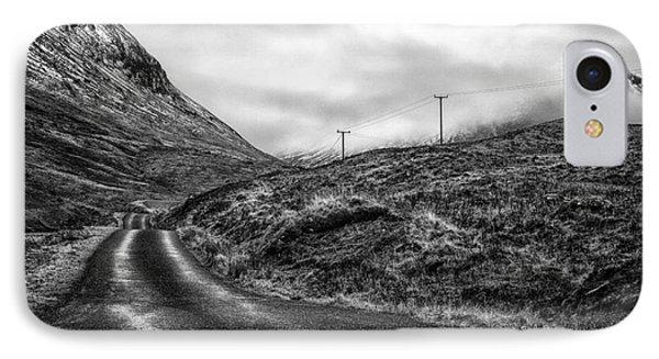 Winding Road In Glen Etive Phone Case by John Farnan