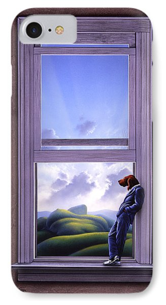 Window Of Dreams IPhone 7 Case by Jerry LoFaro