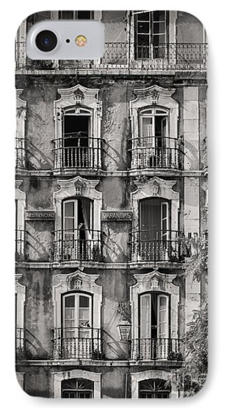 Windows And Balconies 1 IPhone Case by Rod McLean