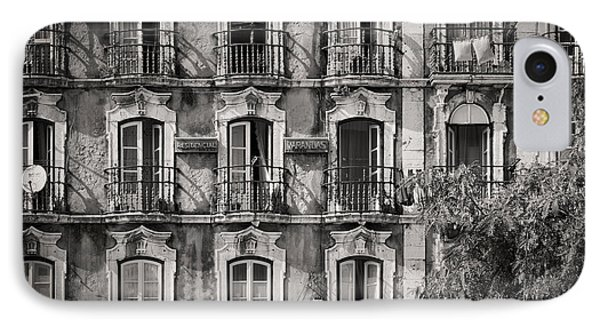 Windows And Balconies 2 IPhone Case by Rod McLean