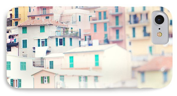 Windows Of Cinque Terre Italy IPhone 7 Case by Kim Fearheiley