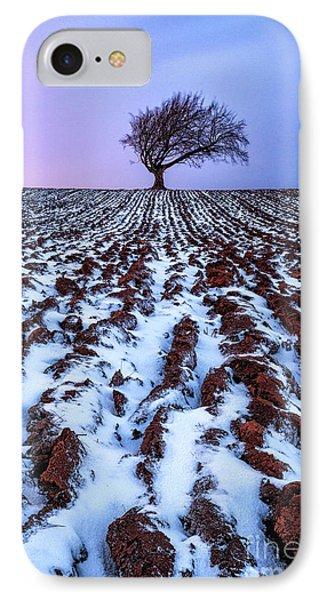 Windswept Tree Scotland Phone Case by John Farnan