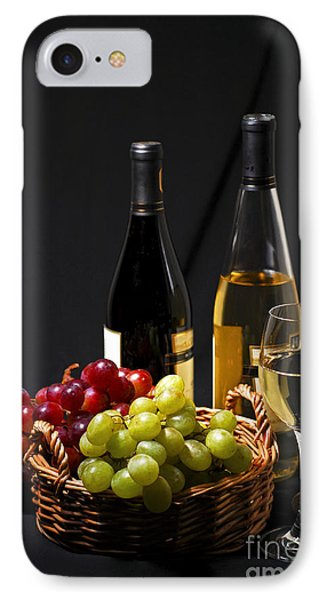 Wine And Grapes IPhone Case by Elena Elisseeva