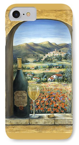 Wine And Poppies IPhone Case by Marilyn Dunlap