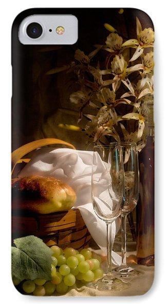 Wine And Romance IPhone Case by Tom Mc Nemar