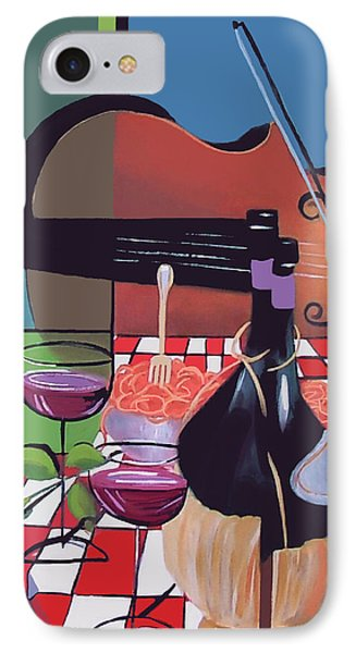 Wine And Roses IPhone Case by Anthony Falbo
