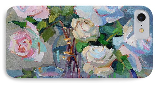 Wine And Roses IPhone Case by Diane McClary